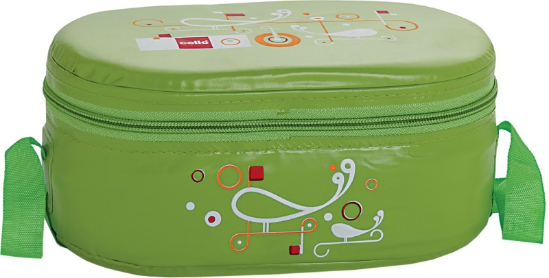 Cello Full on Green 3 Containers Lunch Box(900 ml)