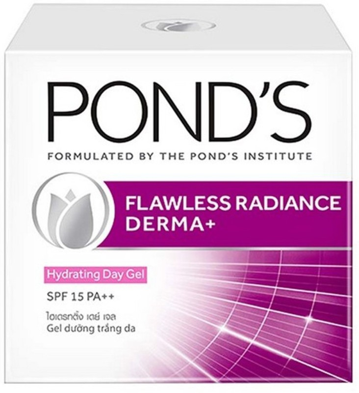 Ponds Flawless Radiance Derma+ Hydrating Day Gel SPF 15(50 g)