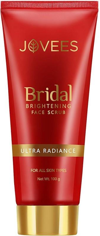 Jovees Bridal Brightening Face Scrub, Scrub(100 g)
