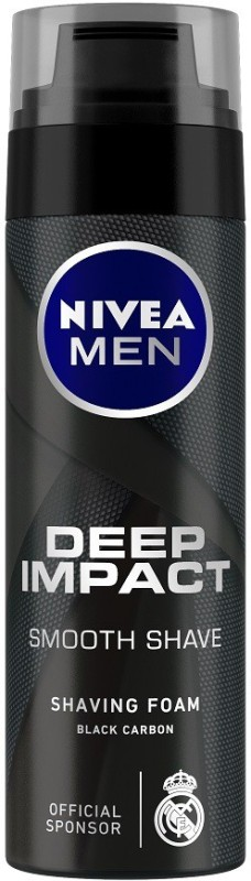 Nivea Men Deep Impact Smooth Shave Shaving Foam(200 ml)
