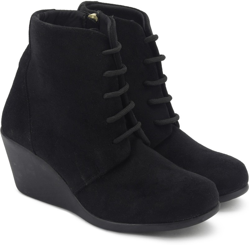 Catwalk FORMAL SHOES Boots For Women(Black)