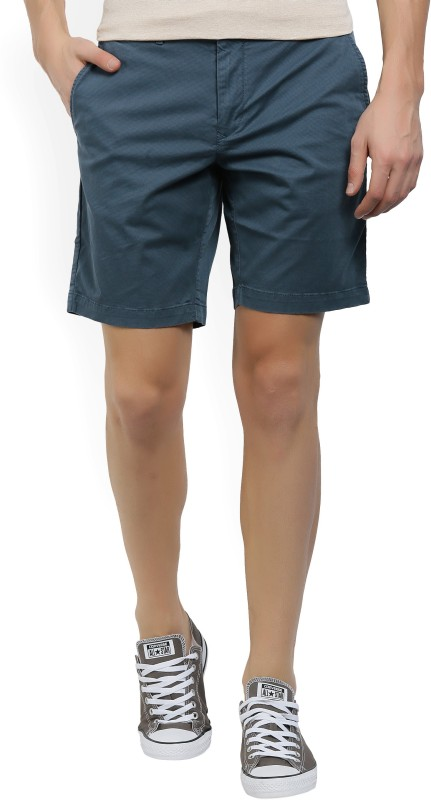 Tommy Hilfiger Printed Mens Blue Chino Shorts