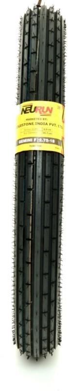 Bridgestone 2.75*R18 45.7Cm *7Cm Front & Rear Tyre(Street, Tube)