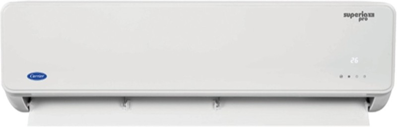 Carrier 1.5 Ton 3 Star BEE Rating 2018 Split AC - White(SUPERIA PRO 3i HYBRID, Copper Condenser)
