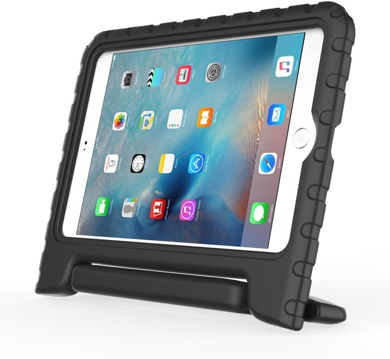DMG Back Cover for Apple iPad 2018 9.7 Inch(Black, Shock Proof, Rubber)