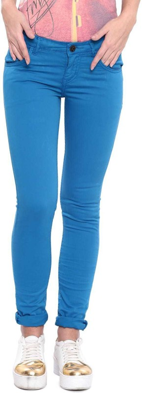 Flying Machine Skinny Women Blue Jeans