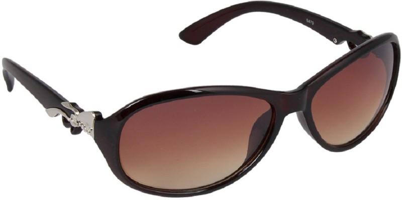 MudShi Rectangular Sunglasses(Brown) image
