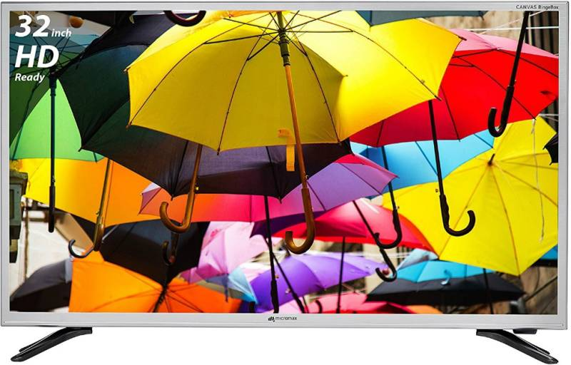 Micromax 81.28cm (32 inch) HD Ready LED Smart TV
