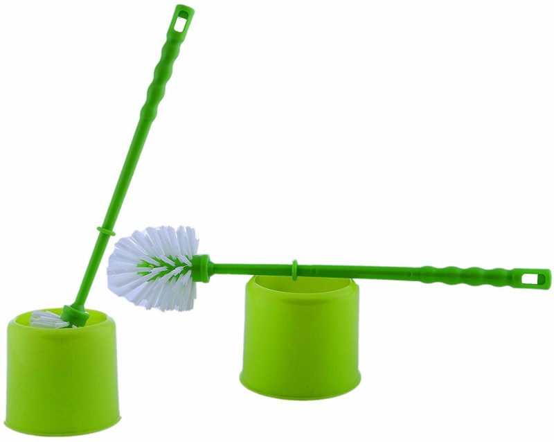 swati TOILET BRUSH WITH HOLDER Toilet Brush with Holder(Multicolor)