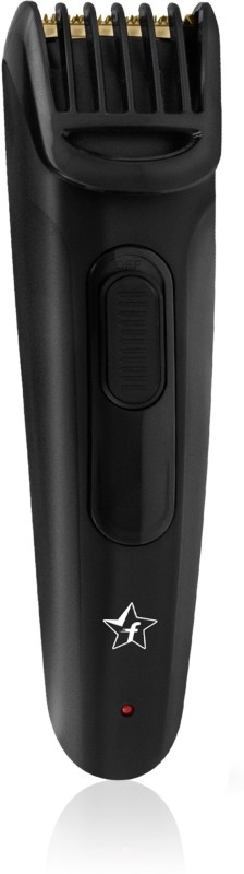 Flipkart SmartBuy ProCut Cordless + Titanium Coated USB Trimmer for Men (Black)(Black)