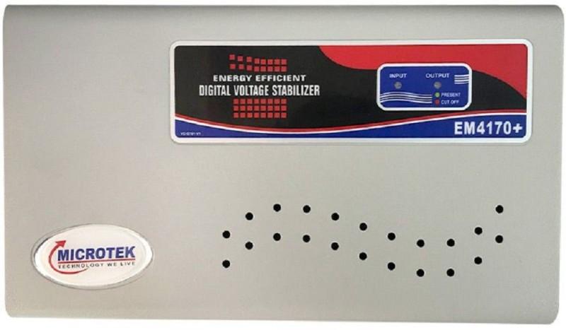 Microtek EM4170+ Voltage Stabilizer(Metallic Grey)