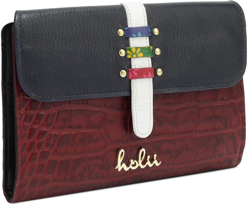 Holii Women Casual, Evening/Party Multicolor Genuine Leather Wallet(8 Card Slots)