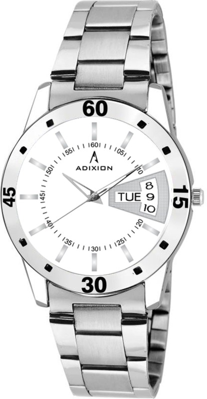 ADIXION 9419SM02 New Stainless Steel Day & Date Series female wrist watch Analog Watch  - For Girls