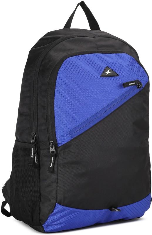 Fastrack A0697NBL01 20 L Backpack(Black, Blue)