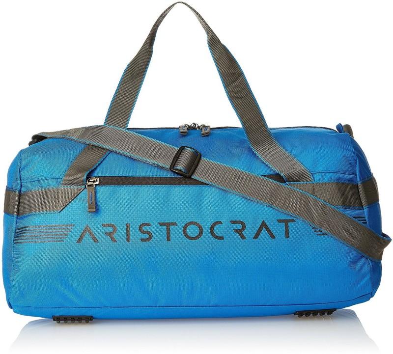 Aristocrat (Expandable) Race Travel Duffel Bag(Blue)