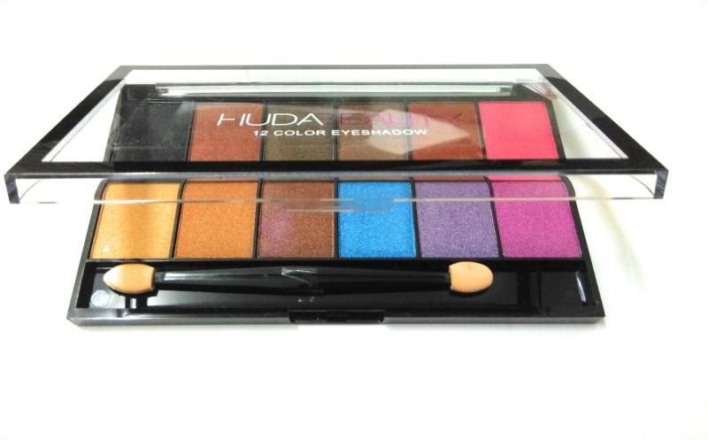 Huda Beauty Liquid Mattee 12 color eye shadow pack 30 g(malticolor)