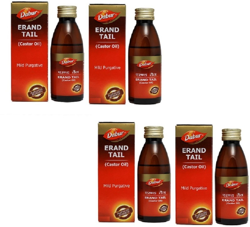 Dabur Erand Tail - 50 ml (pack of 4) Hair Oil(50 ml)