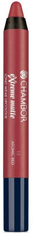 Chambor Extreme Matte Lip Colour (Atomic Red 12)(Atomic Red 12)