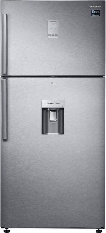 Samsung 523 L Frost Free Double Door 3 Star Refrigerator(Easy Clean Steel, RT54K6558SL/TL)