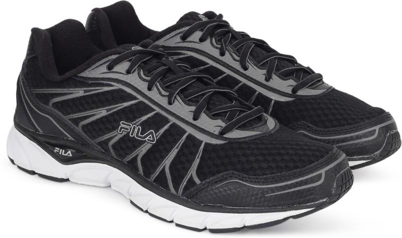 Fila MINDBREAKER Running Shoes For Men(Black, Grey)