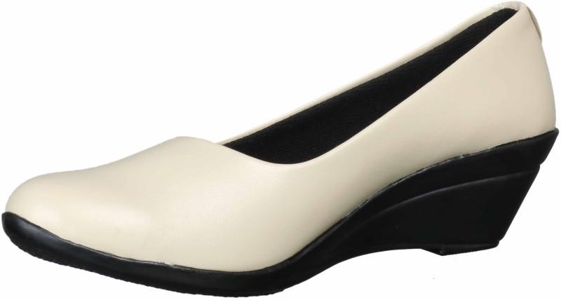 1 WALK Slip On For Women(Off White)