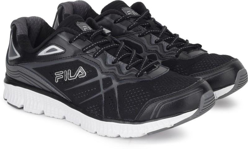 Fila MEMORY PANORAMA Running Shoes For Men(Black)