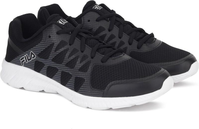 Fila MEMORY FINITY Running Shoes For Men(Black)