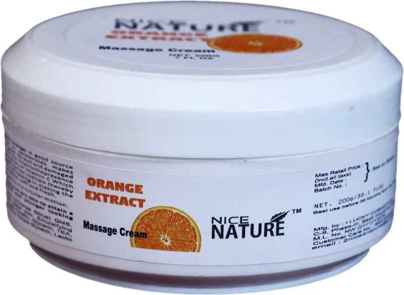 Nice Nature Orange Extract Massage Cream(200 g)