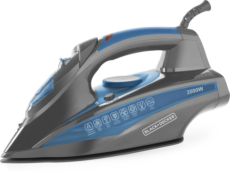 Black & Decker BXIR2001IN Steam Iron(Blue)