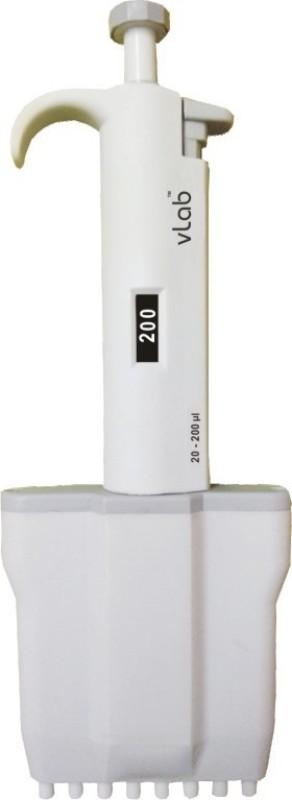 VLAB Multi Channel Manual Laboratory Pipette(200 microliter)