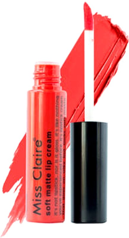 Miss Claire Soft Matte Lip Cream(Tommato Red)