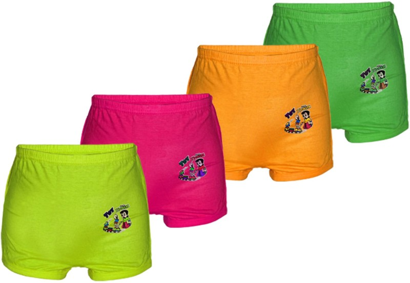 1st RANK Short For Boys & Girls Casual Solid Cotton(Multicolor, Pack of 4)
