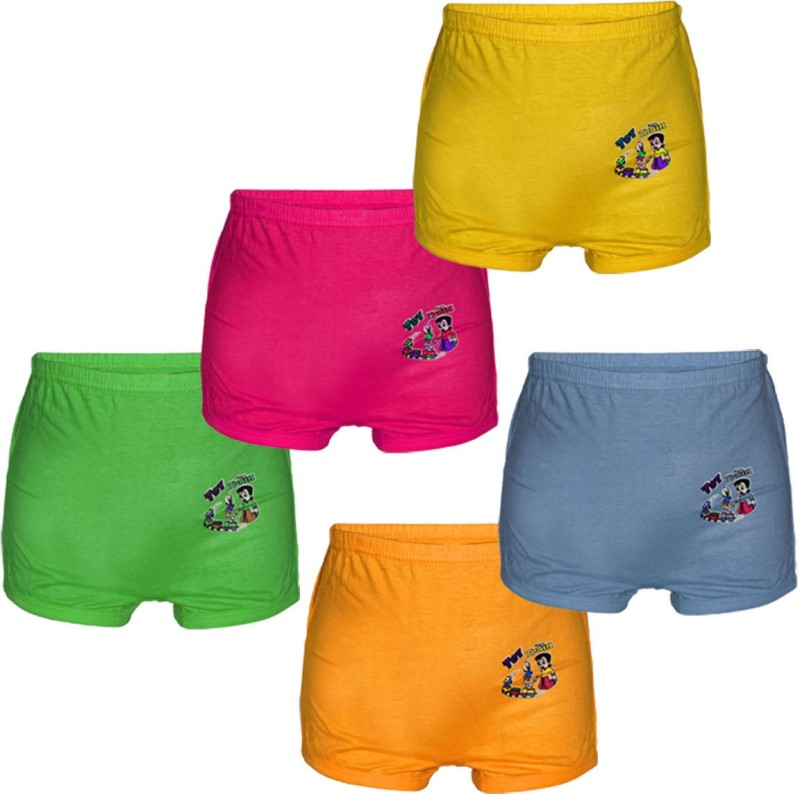 1st RANK Short For Boys & Girls Casual Solid Cotton(Multicolor, Pack of 5)