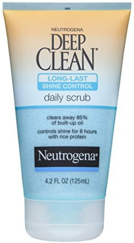 Neutrogena Deep Clean Long-Last Shine Control Daily Face Exfoliating Scrub(125 ml)