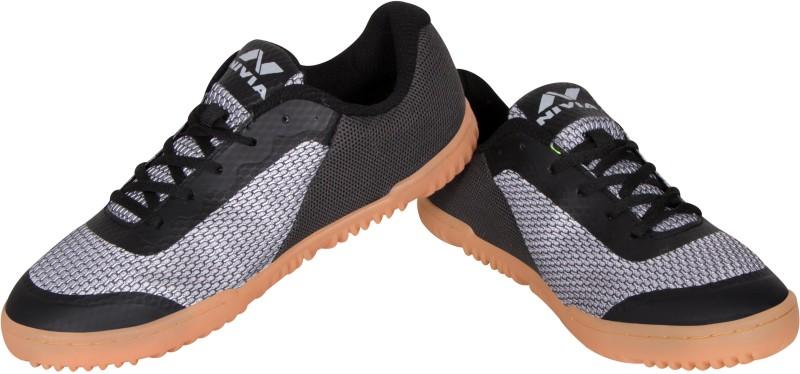 Nivia Badminton Shoes For Men(Black)