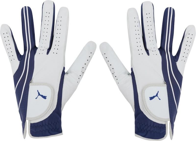 Puma Form Stripe Perform Glove LH Gym & Fitness Gloves (Small Boys, Blue)