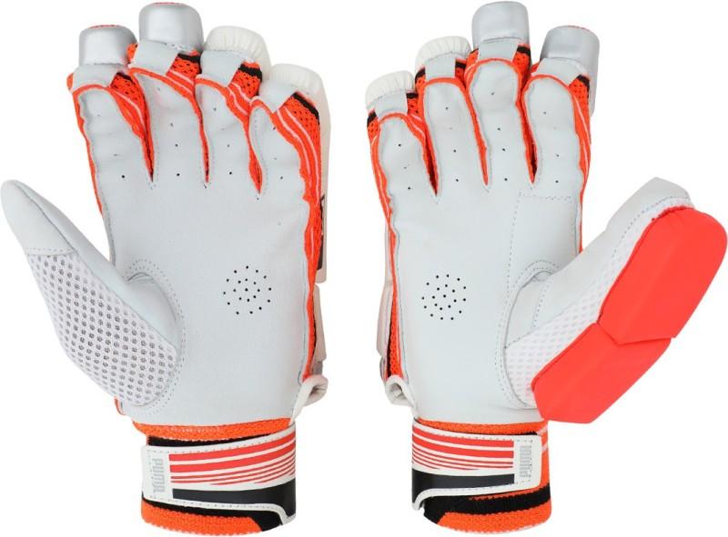 Puma EVO 5 Batting glove Batting Gloves (M, Red)