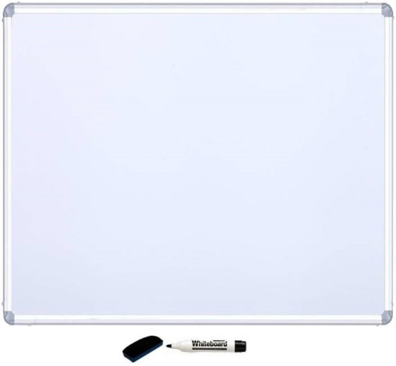 Tailgate Non Magnetic Wooden with foam Mala 60*45 Whiteboards and Duster Combos(Set of 1, White, Green)