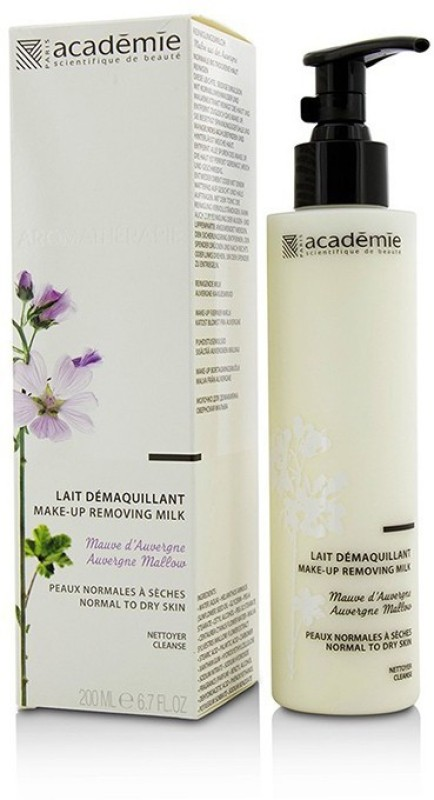 Academie Aromatherapie Make-Up Removing Milk - For Normal To Dry Skin(200 ml)