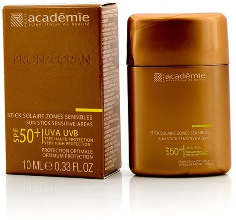 Academie Bronzecran Sun Stick Sensitive Areas SPF 50+ - For Sensitive & Highly Exposed Areas(10 ml)