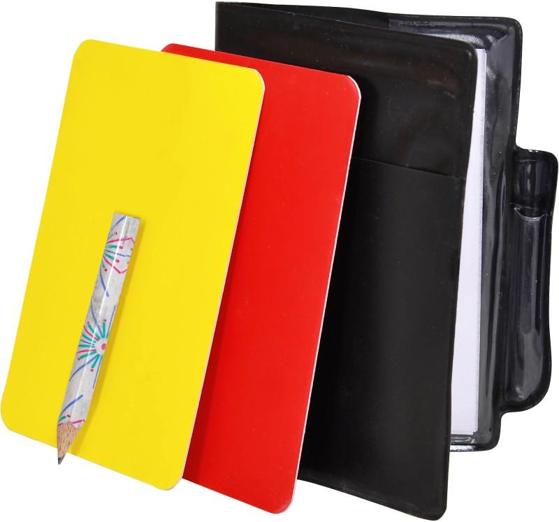 SAS Referee Scorebook Football Foul Card