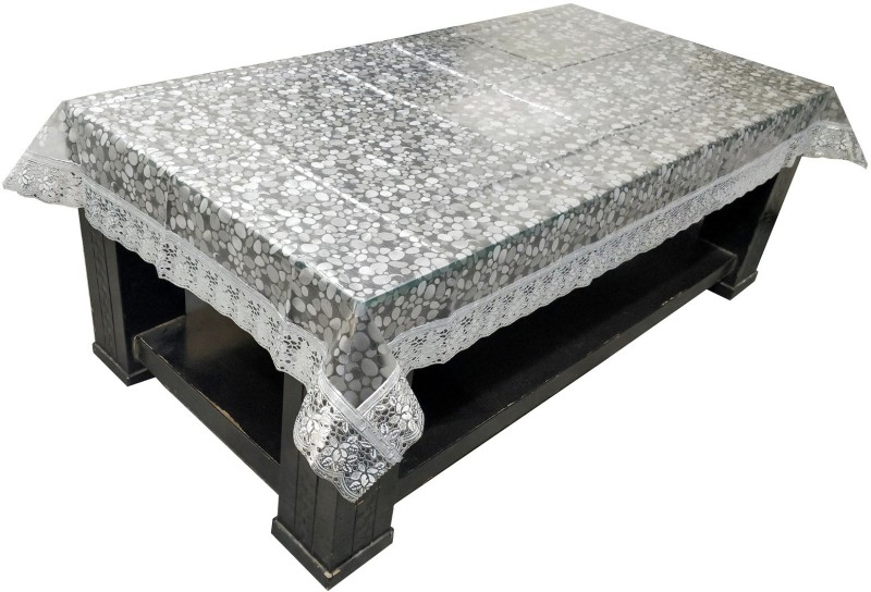 LooMantha Abstract 4 Seater Table Cover(Multicolor, PVC)