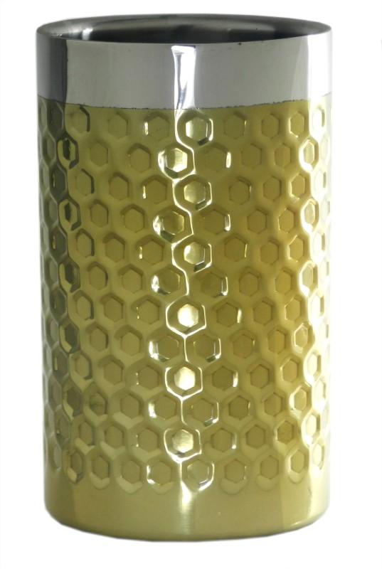 GAARV Handcrafted Barware Dual Zone Wine Cooler(Gold, 1 Bottles)