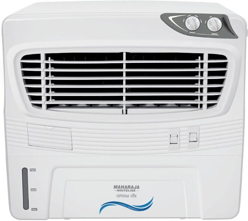 Maharaja Whiteline ARROW DLX Window Air Cooler(White, 50 Litres)