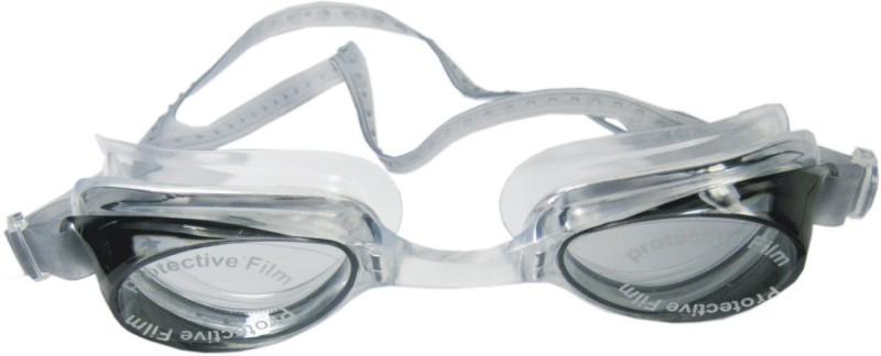 aroraonlinetraders Sports Swimming Googles JOINTLESS With Free Ear PLugs Inside (Black) Swimming Goggles(Black)