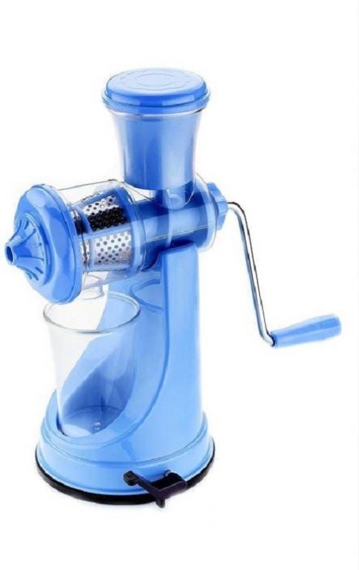 Lucky Box Plastic, Stainless Steel Hand Juicer(Blue Pack of 1)