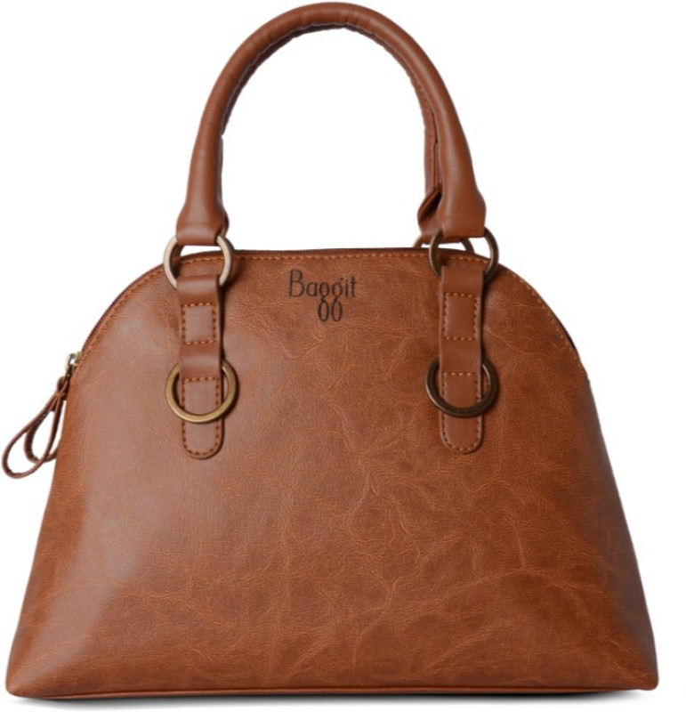 Baggit Hand-held Bag(Brown)