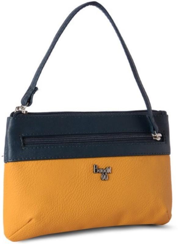 Baggit Hand-held Bag(Yellow, Black)