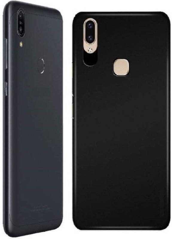 Skyforce Bumper Case for Huawei P20 Lite/ Honor P20 Lite(Plain Black, Shock Proof, Polycarbonate)