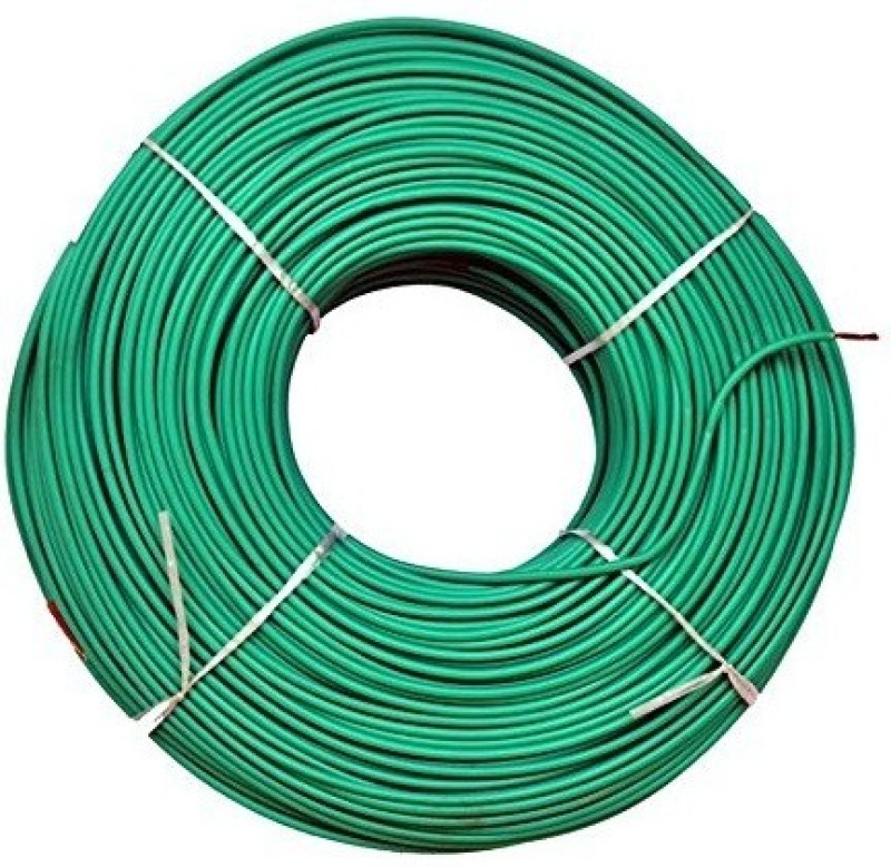 Dmak Toran PVC 1.5-Sq/Mm Green 90 m Wire(green)